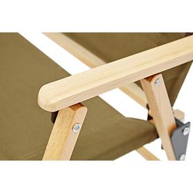 CAMPZ Comfort Pyökki Taittuva Tuoli, brown
